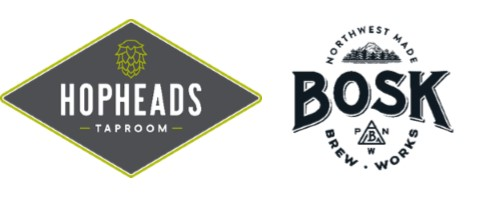 Hopheads Taproom and Bosk Brew Works Partnership