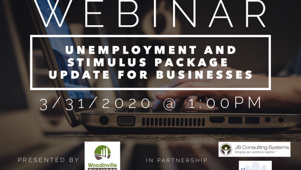 WEBINAR: Unemployment and Stimulus Package Update for Businesses