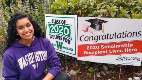 Woodinville Chamber Scholarship Recipient 2020
