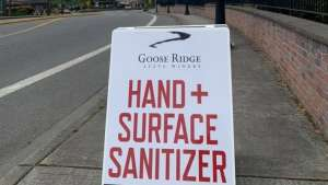 Member Spotlight: Goose Ridge Winery Produces Hand + Surface Sanitizer